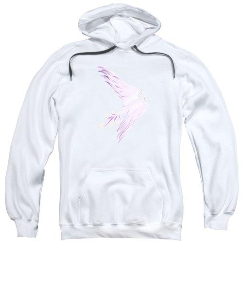 Magical Phoenix Bird Artistic Design Sweatshirt by Awen Fine Art Prints