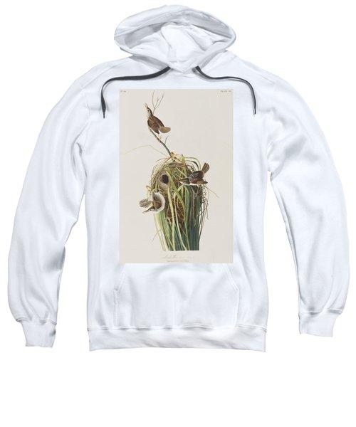 Marsh Wren  Sweatshirt by John James Audubon
