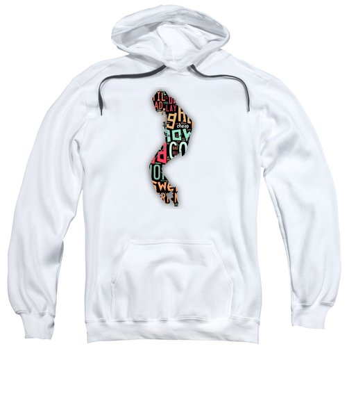 Michael Jackson I'm Bad Sweatshirt by Marvin Blaine