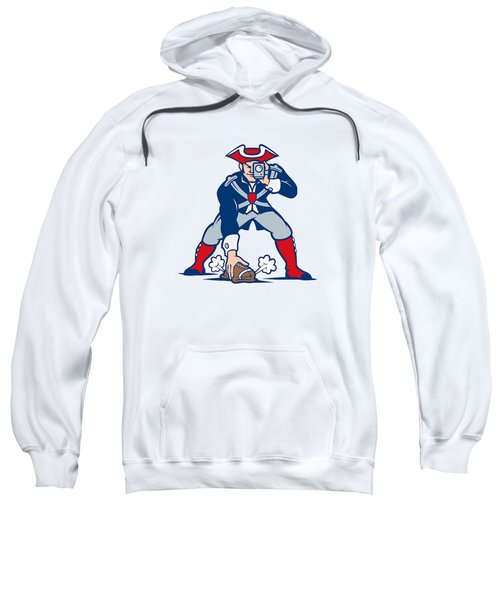 New England Patriots Parody Sweatshirt by Joe Hamilton