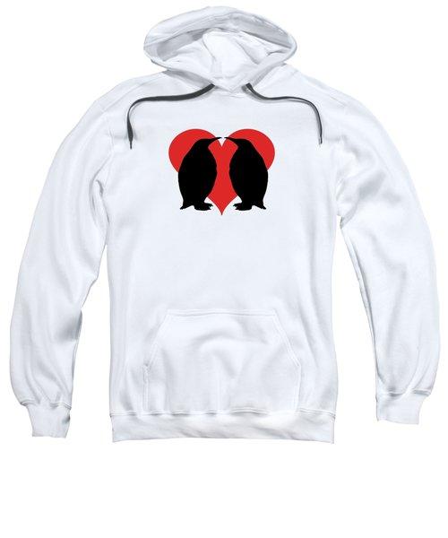 Penguins Sweatshirt by Mordax Furittus
