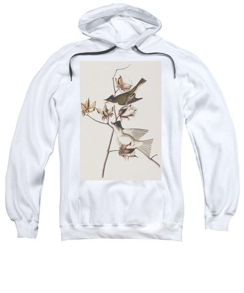 Pewit Flycatcher Sweatshirt by John James Audubon