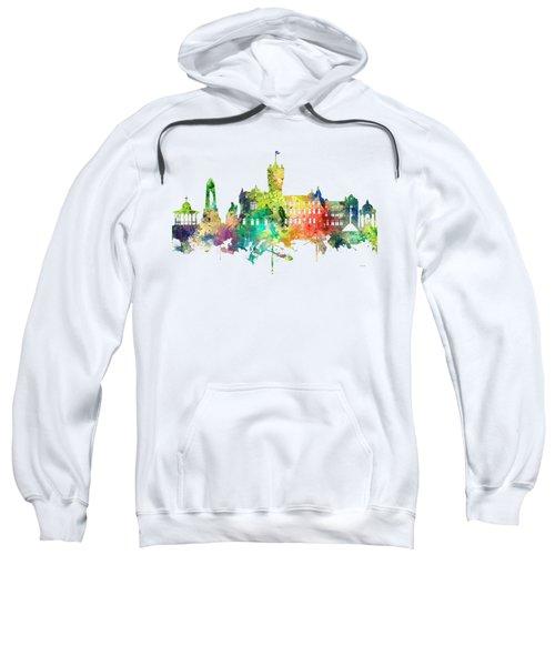 Rutherglen Scotland Skyline Sweatshirt by Marlene Watson