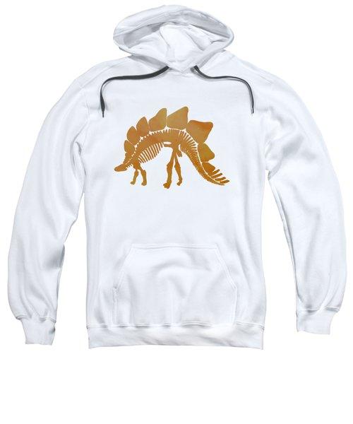 Stegosaurus Skeleton Sweatshirt by Mordax Furittus