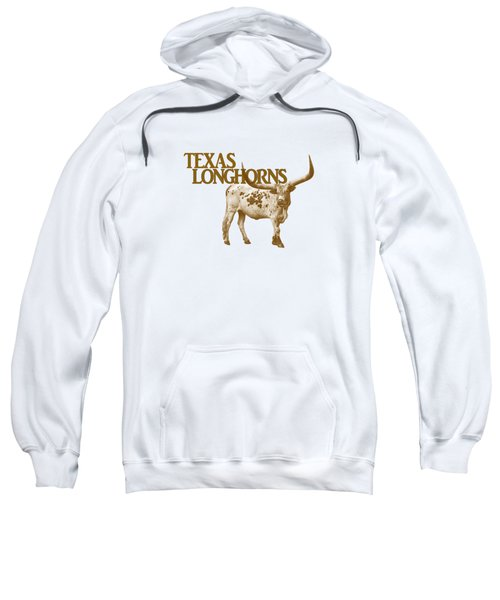 Texas Longhorns Sweatshirt by Priscilla Burgers
