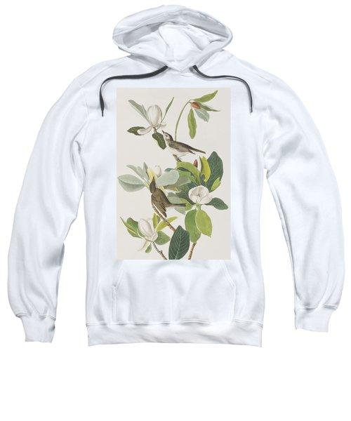 Warbling Flycatcher Sweatshirt by John James Audubon