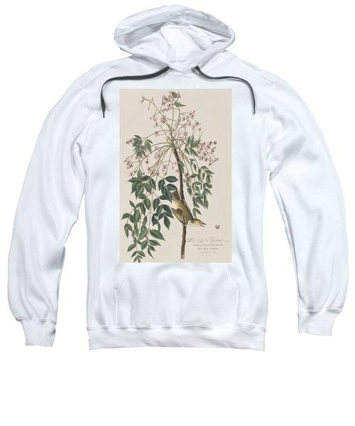 White-eyed Flycatcher Sweatshirt by John James Audubon