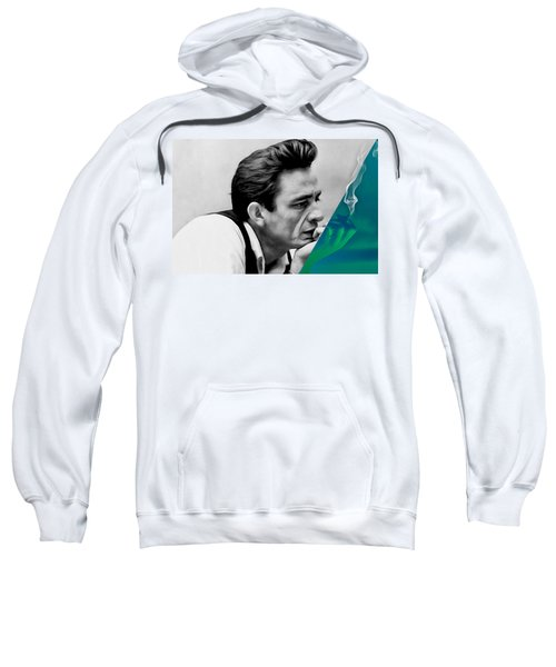 Johnny Cash Collection Sweatshirt by Marvin Blaine
