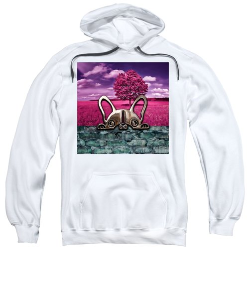 Dog And Landscapes Collection Sweatshirt by Marvin Blaine