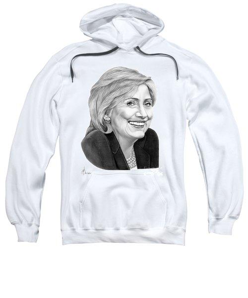 Hillary Clinton Sweatshirt by Murphy Elliott
