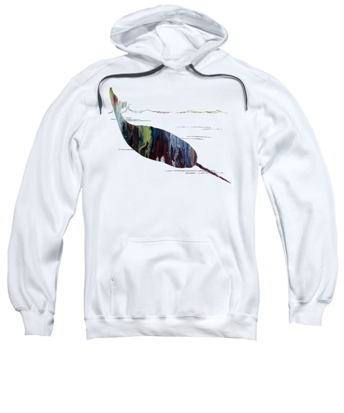 Narwhal Sweatshirt by Mordax Furittus
