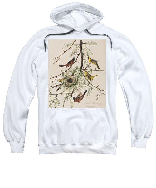 Orchard Oriole Sweatshirt by John James Audubon
