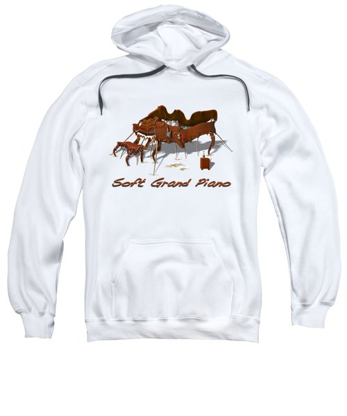 Soft Grand Piano  Sweatshirt by Mike McGlothlen