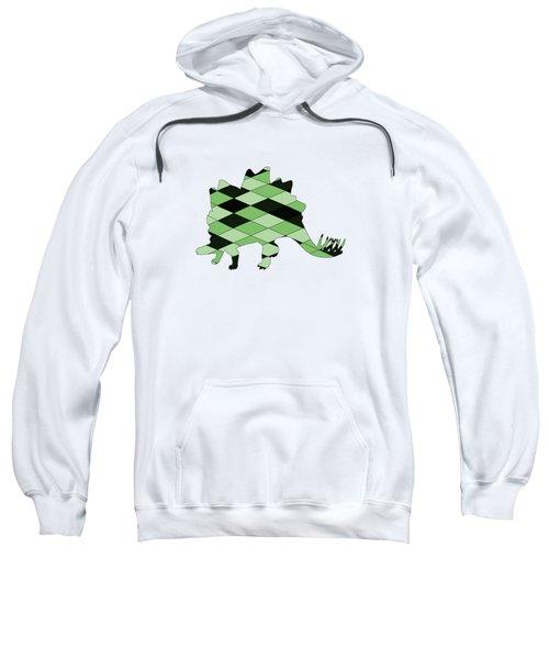 Stegosaurus Sweatshirt by Mordax Furittus