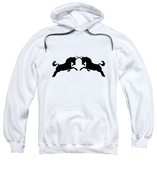 Unicorns Sweatshirt by Mordax Furittus