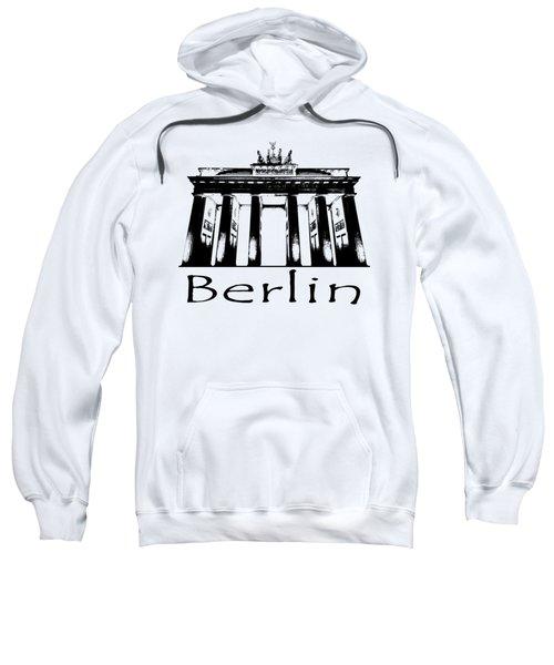 Brandenburg Gate Sweatshirt by Julie Woodhouse