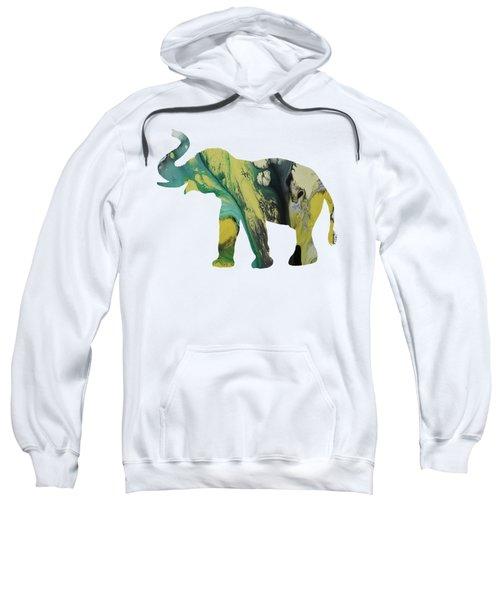 Elephant Sweatshirt by Mordax Furittus