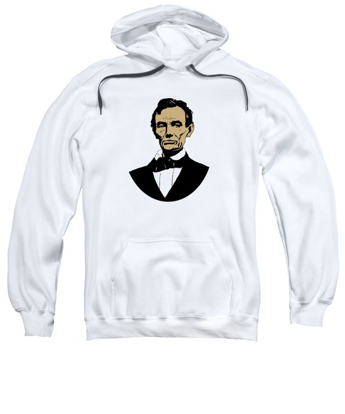 President Lincoln Sweatshirt by War Is Hell Store