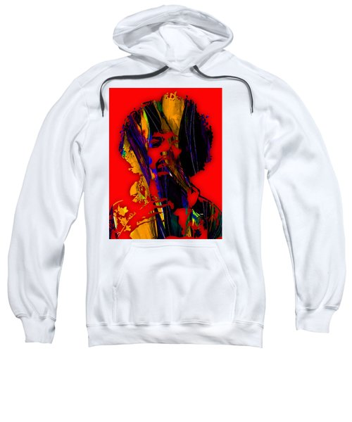 Jimi Hendrix Collection Sweatshirt by Marvin Blaine