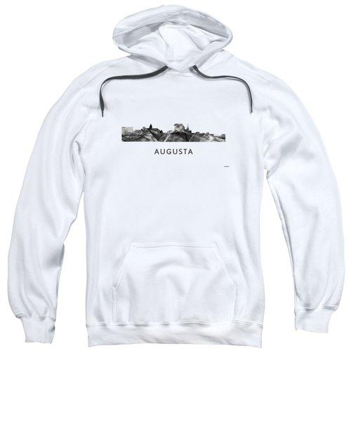 Augusta Maine Skyline Sweatshirt by Marlene Watson