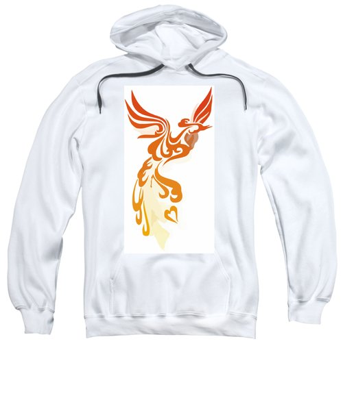 Phoenix Sweatshirt by Frederick Holiday