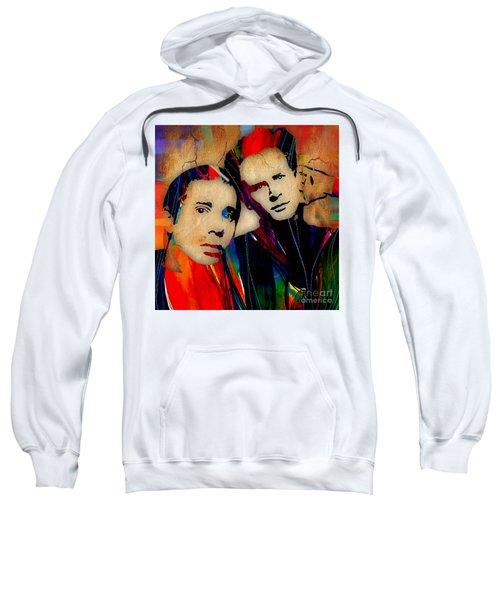 Simon And Garfunkel Collection Sweatshirt by Marvin Blaine