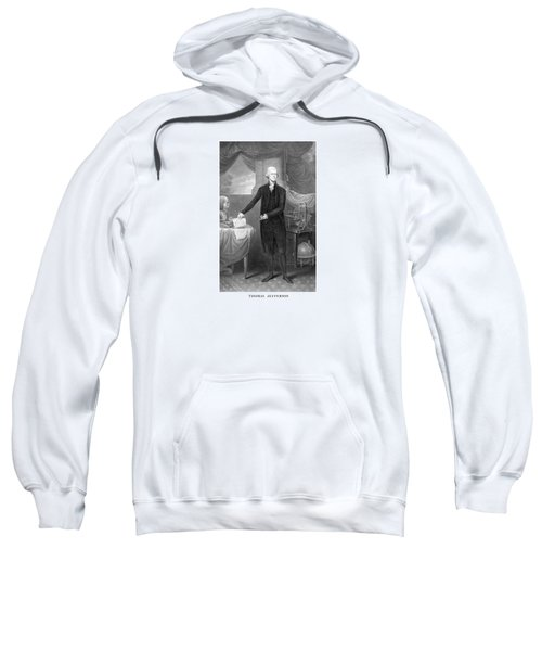 Thomas Jefferson Sweatshirt by War Is Hell Store