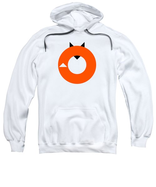 A Most Minimalist Fox Sweatshirt by Nicholas Ely