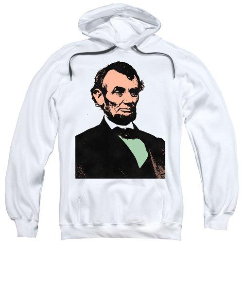 Abe Lincoln 2 Sweatshirt by Otis Porritt