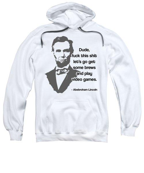 Abebroham Lincoln Sweatshirt by Michelle Murphy