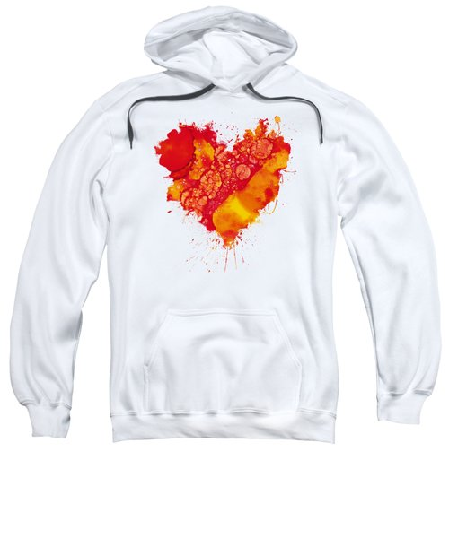 Abstract Intensity Sweatshirt by Nikki Marie Smith