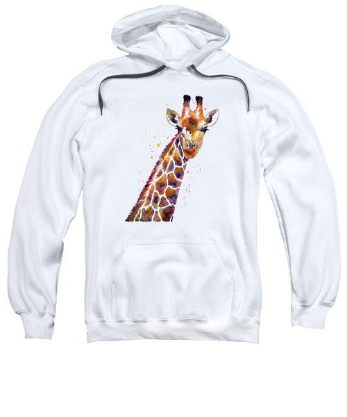 Giraffe Sweatshirt by Hailey E Herrera
