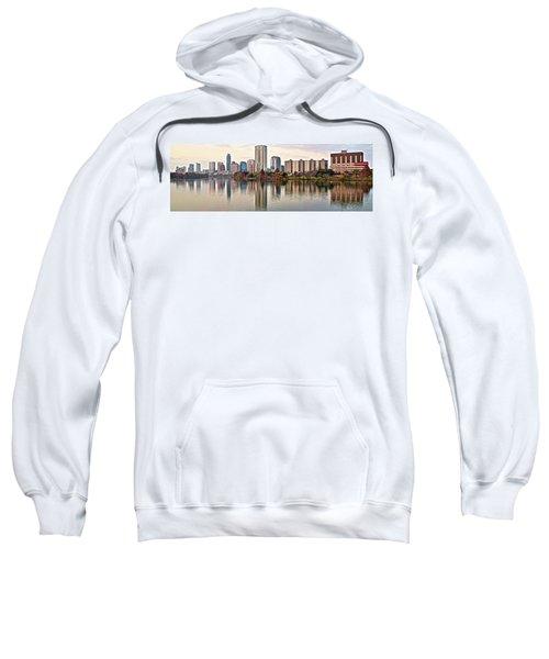 Austin Wide Shot Sweatshirt by Frozen in Time Fine Art Photography