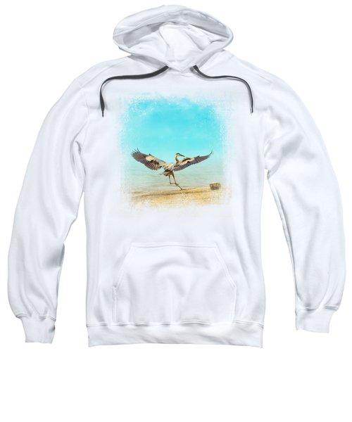 Beach Dancing Sweatshirt by Jai Johnson
