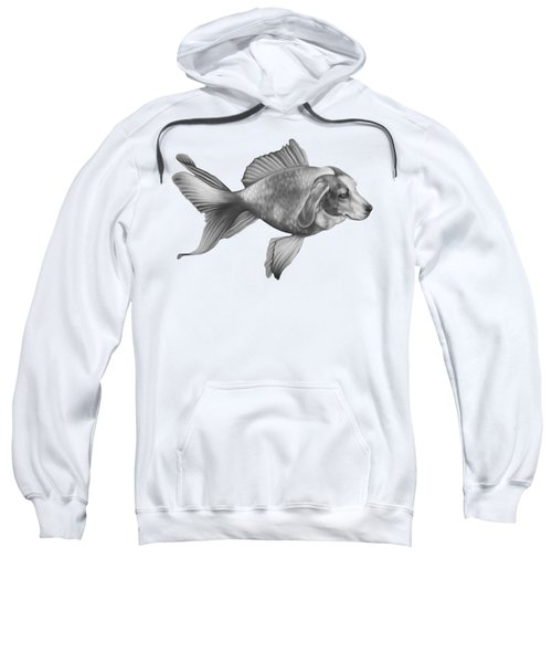 Beaglefish Sweatshirt by Courtney Kenny Porto