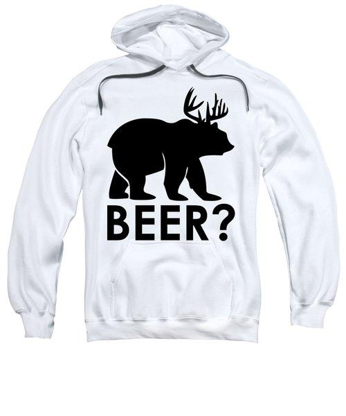 Beer? Sweatshirt by Frederick Holiday