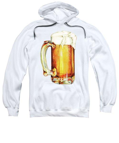 Beer Pattern Sweatshirt by Kelly Gilleran