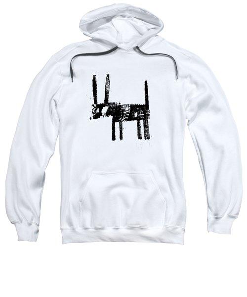 Black Sweatshirt by H James Hoff