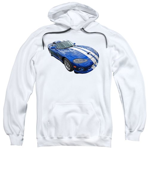 Blue Viper Sweatshirt by Gill Billington