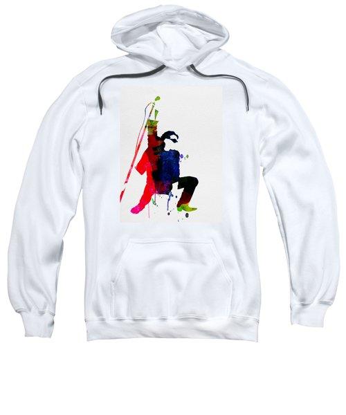 Bono Watercolor Sweatshirt by Naxart Studio