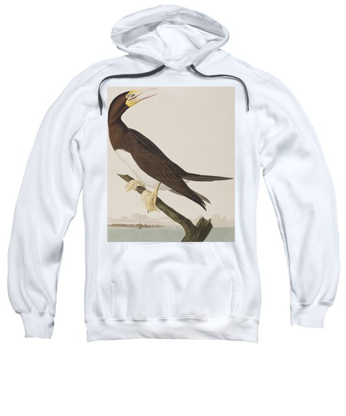 Booby Gannet   Sweatshirt by John James Audubon