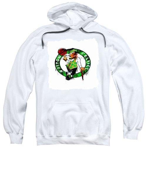 Boston Celtics 2b Sweatshirt by Brian Reaves