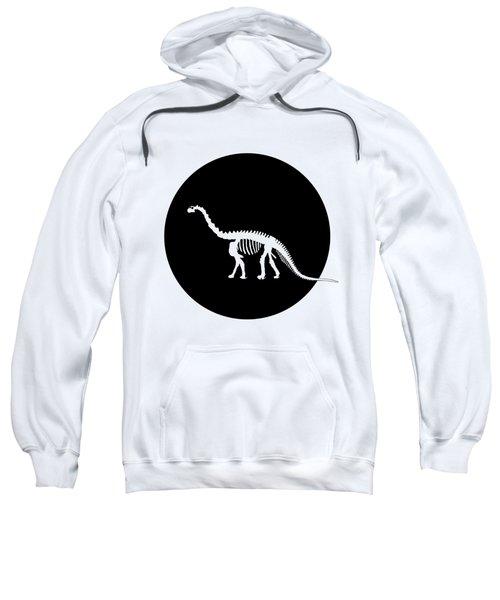 Brontosaurus Skeleton Sweatshirt by Mordax Furittus