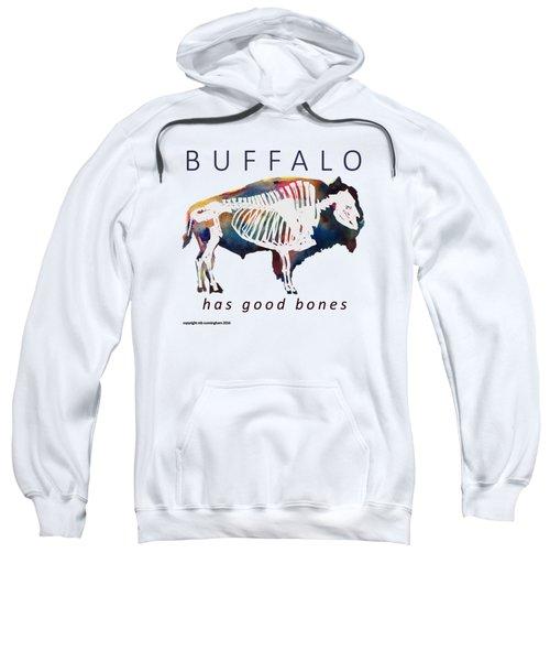 Buffalo Has Good Bones Sweatshirt by Marybeth Cunningham