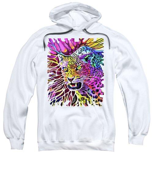 Cat Beauty Sweatshirt by Anthony Mwangi