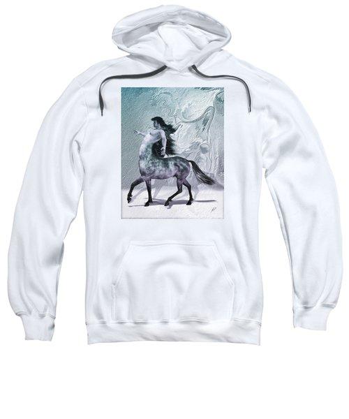 Centaur Cool Tones Sweatshirt by Quim Abella