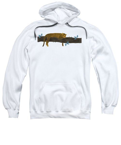 Cheetah Chill Sweatshirt by Priscilla Wolfe