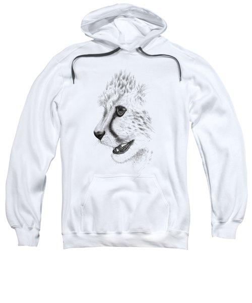 Cheetah Sweatshirt by John Barnard