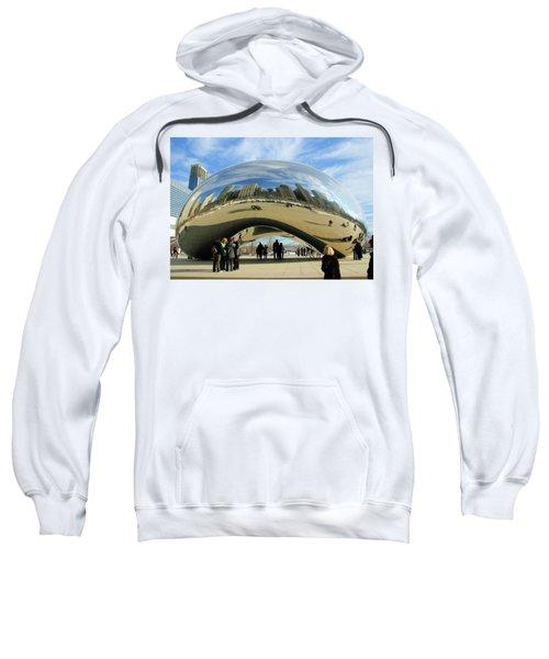 Chicago Reflected Sweatshirt by Kristin Elmquist