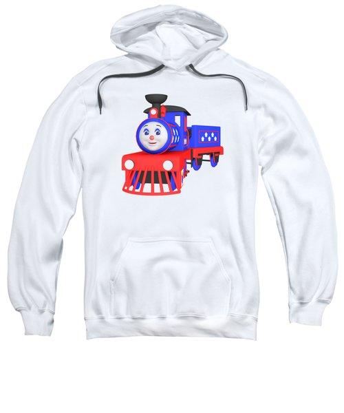 Choo-choo The Train - 1 Sweatshirt by Yulia Litvinova